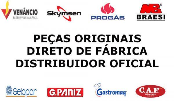 Peças de Reposição para Equipamentos GPANIZ, GELOPAR, BRAESI, GASTROMAQ, VENANCIO, SKYMSEN