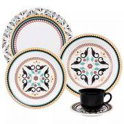 Aparelho de Jantar 30 peças Floreal Luiza – Oxford Porcelanas