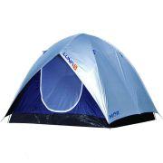 Barraca Camping Iglu Luna 5 Pessoas C/ Sobreteto – Mor