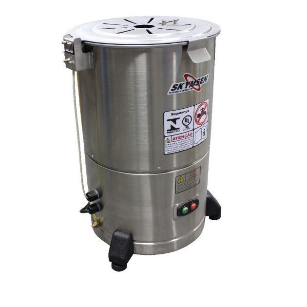 Descascador de Batata Industrial Elétrico Skymsen 6 kg DB-06