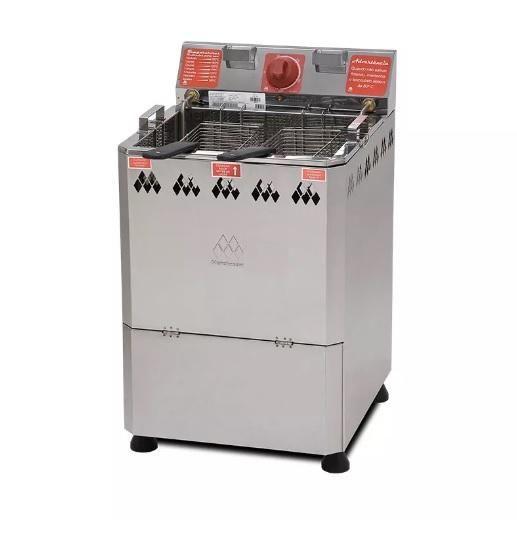72420d8e5 Fritadeira água e óleo elétrica de 18 litros 220v - MARCHESONI na ...