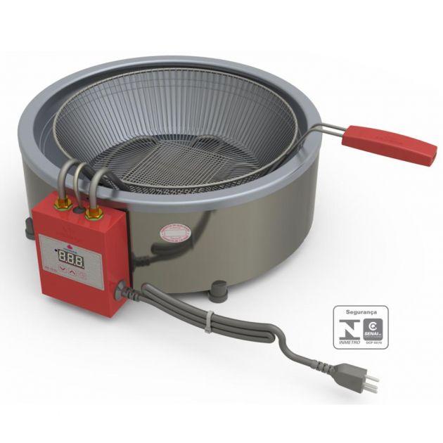 Fritadeira Eletrônica Industrial Inox 7 Litros com Cesto PR 70  – Progás