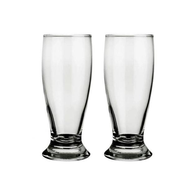 Jogo de Copos de Vidro Transparente Tulipa 240 ml Attuale 10 unidades