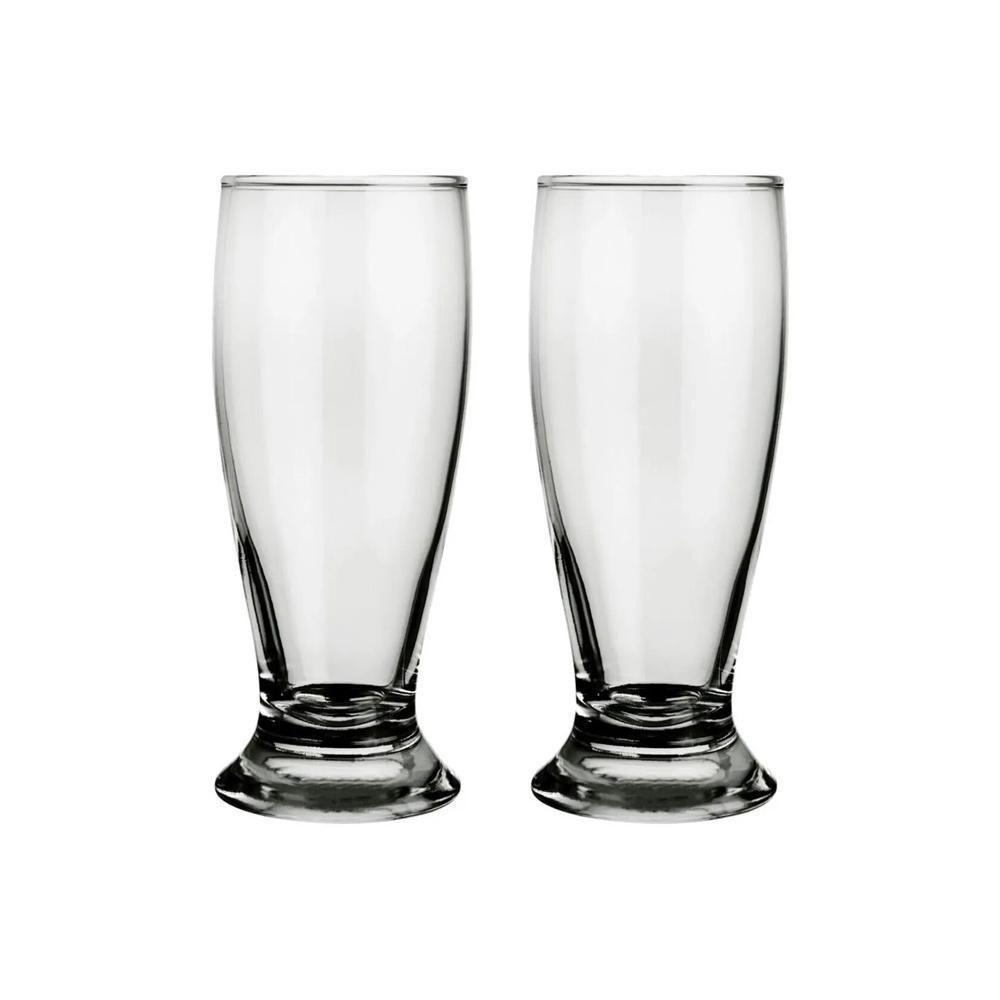 Jogo de Copos de Vidro Transparente Tulipa 240 ml Attuale 6 unidades