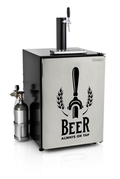 Kegerator Refrigerador de Chopp Torneira Italiana Gelopar - GRGK-170 ITA