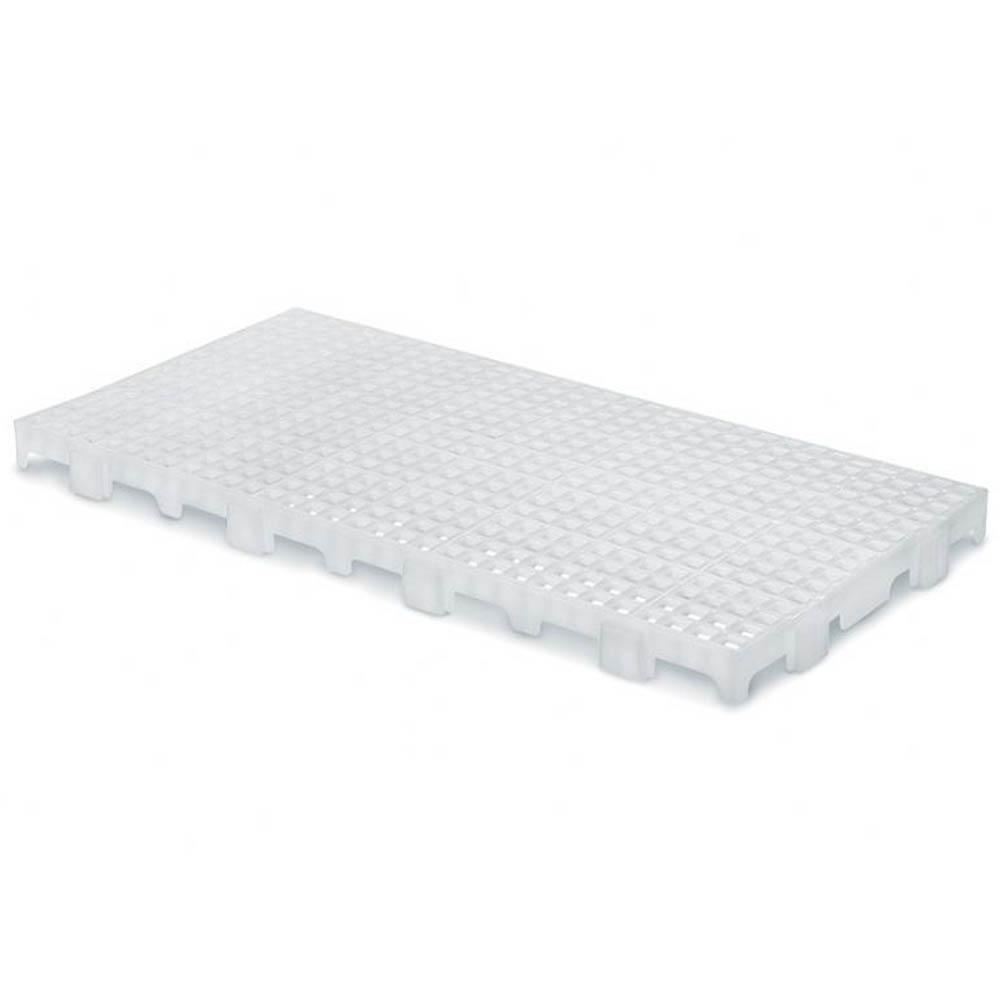 Kit com 5 Pallet de Plástico MS25 Commerco Branco
