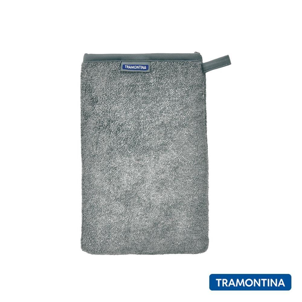 Luva De Microfibra Tramontina Design Collection Para Limpar Aço Inox