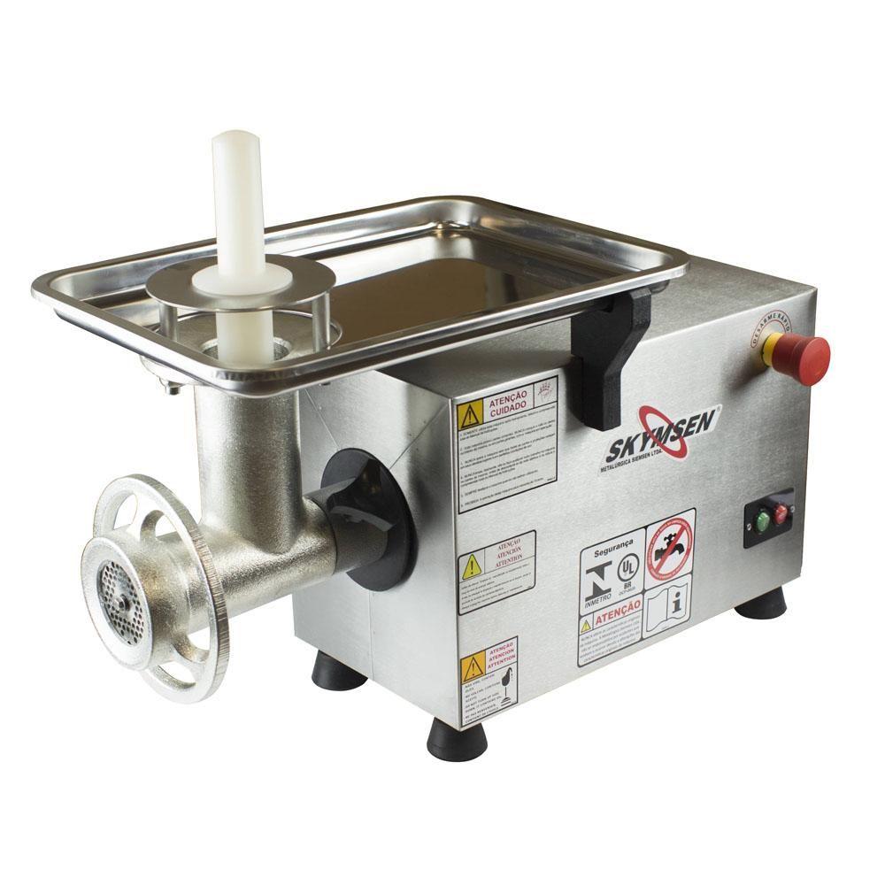 Moedor de Carne Elétrico Industrial Profissional Skymsen PS 10