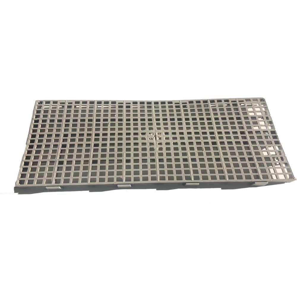 Pallet de Plástico M25 Commerco Cinza